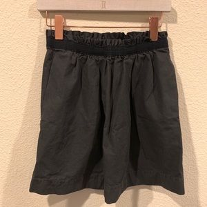 J. Crew gray skirt with pockets